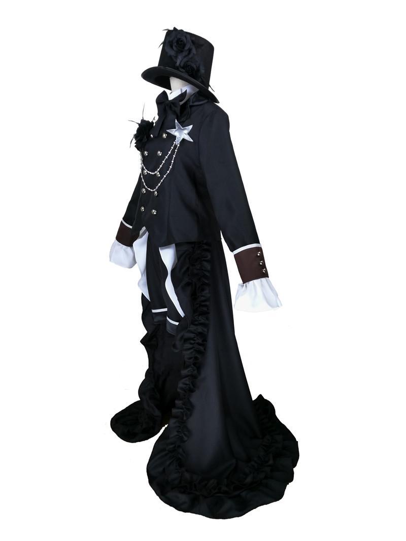 Kuroshitsuji Anime Black Butler Ciel Phantomhive Robe de soirée Costume Cosplay Ensemble Complet Personnalisé