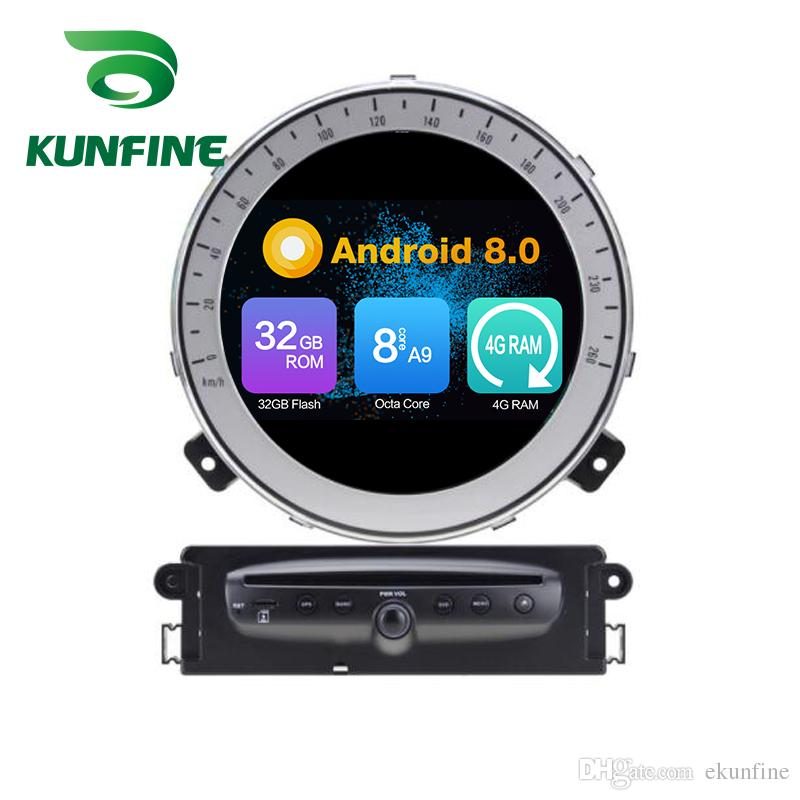 Octa Core 4 GB di RAM Android 8.0 Auto DVD GPS Navigation Multimedia Player Car Stereo per BMW Mini Cooper Dopo 2006-2013Year Radio Headuint Wif
