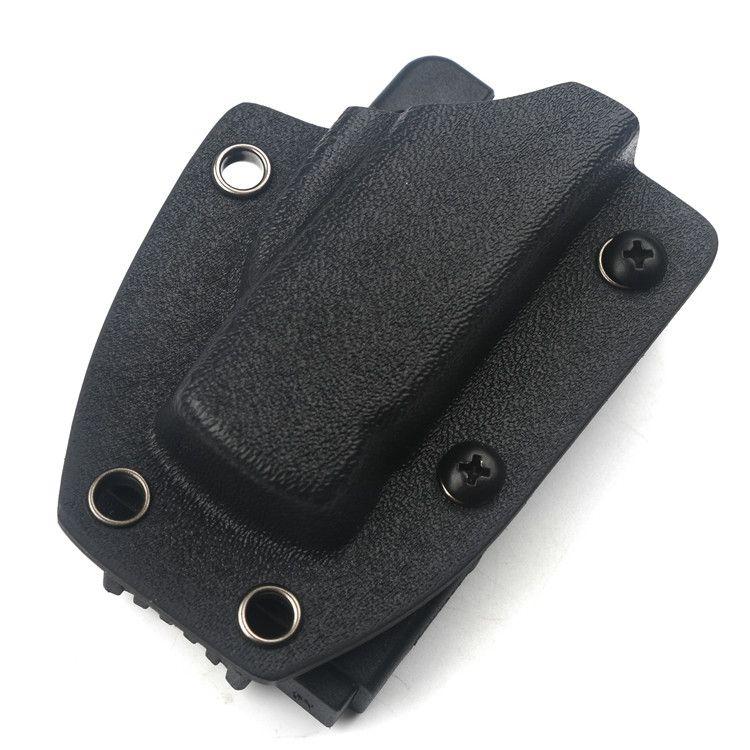 تنطبق التلقائي سكين kydex حامي سكين على سكين MICRO EDC غمد حزام كليب الخصر المشبك معسكر خارجي محمول