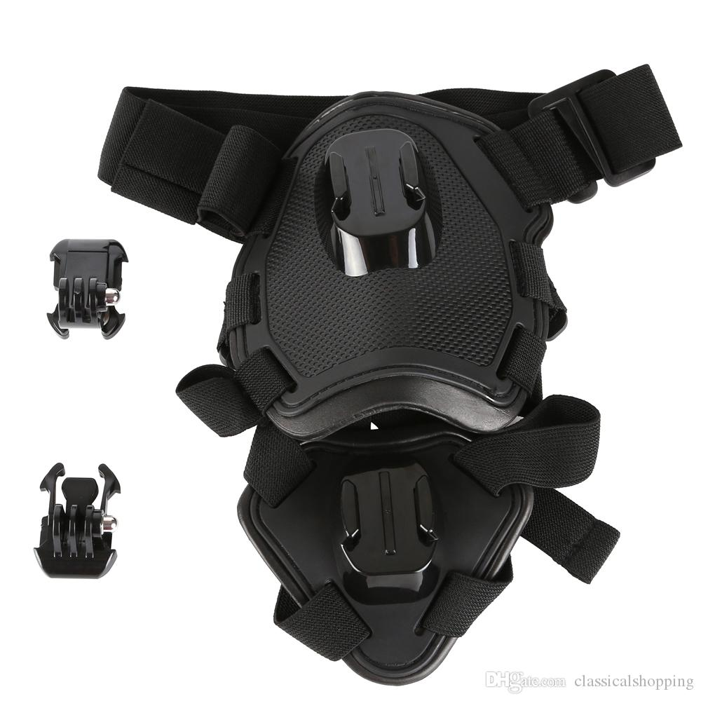 Go Pro Fetch dog Mount dog Harness Chest Strap Mount for Go pro Camera Hero 4/3+/3/5/SJ4000/Xiao yi dog chest strap Accessories