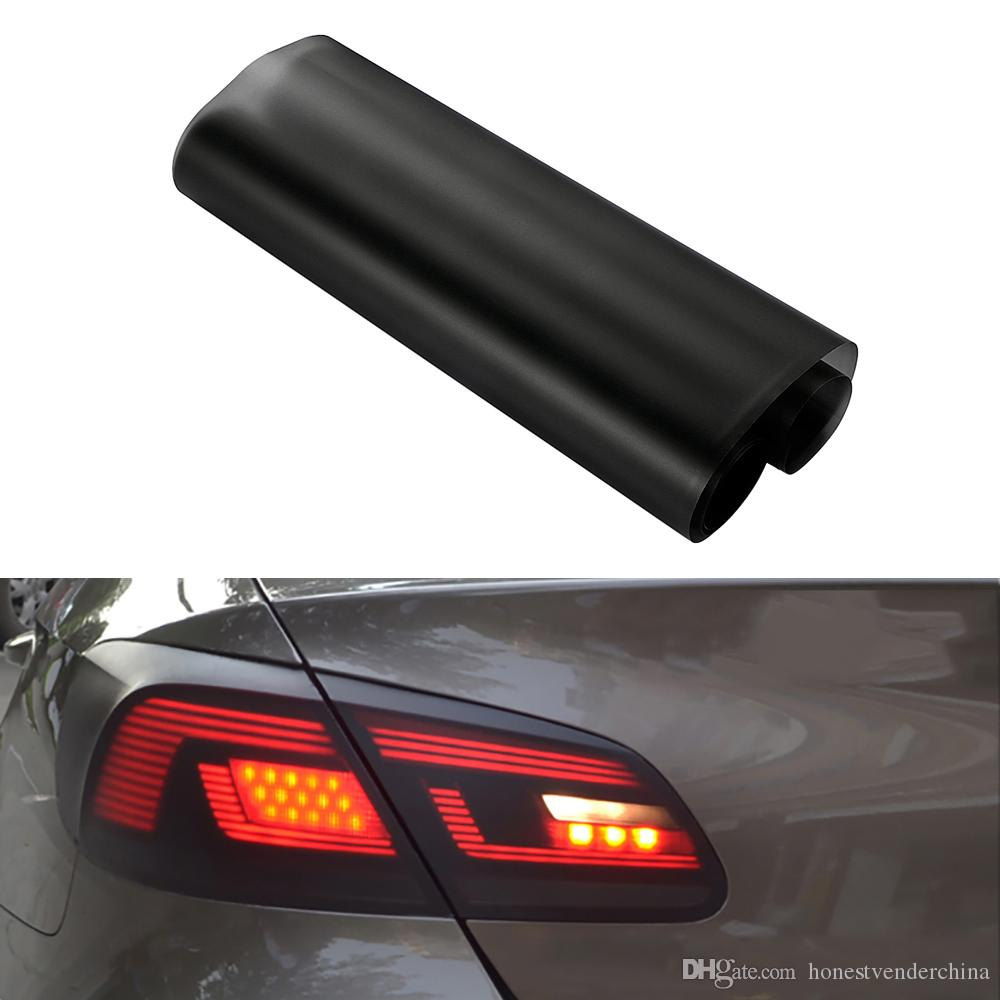 30*150cm Matt Smoke Light Film Car Matte Black Tint Headlight Taillight Fog Light Vinyl Film Rear Lamp Tinting Film Automobiles