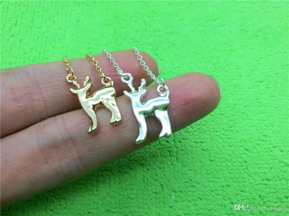Wild Protection Animal Fawn Bracelet Little Giraffe Elk Antler Bracelet Christmas Deer Sika Deer Bracelet Simple Lucky Amulet Jewelry