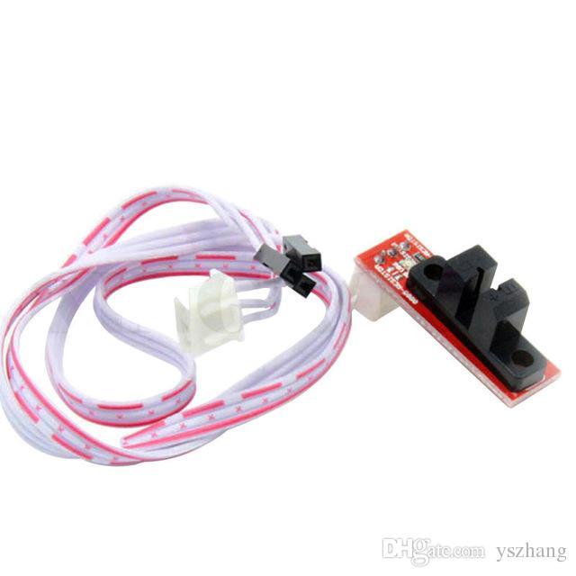 10pcs accessori per stampanti 3D finecorsa di controllo della luce ottica end-stop con cavo a 3 pin per scheda RAMPS 1.4