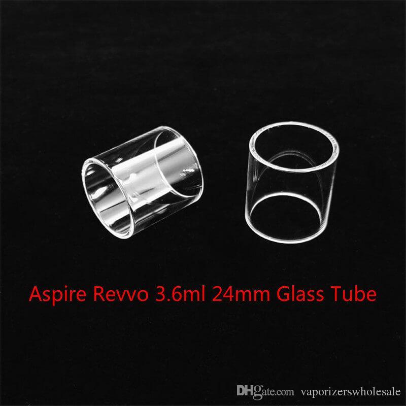 Toptan Aspire Revvo 3.6 ml 24mm Tank Değiştirme Cam Tüp Ile DHL Ücretsiz Kargo ucuz satın almak Aspire Revvo 3.6 ml 24mm Tankı Cam tüp
