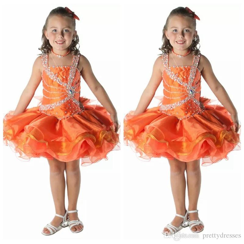 Spaghetti Princesse Filles À Niveaux Mignon Pageant Cupcake Robes Infantile Occasion Spéciale Jupes Toddler Tutu Prom Party Cristal D'anniversaire Robes