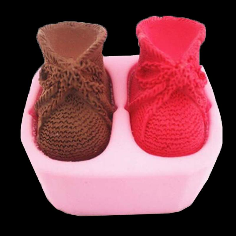 3d Bow Shoes Silicone Mold Fondant Cake Baking Chocolate Candy Soap Cake Decorating Molded Resin Clay Shapes Silicone Cake Mold