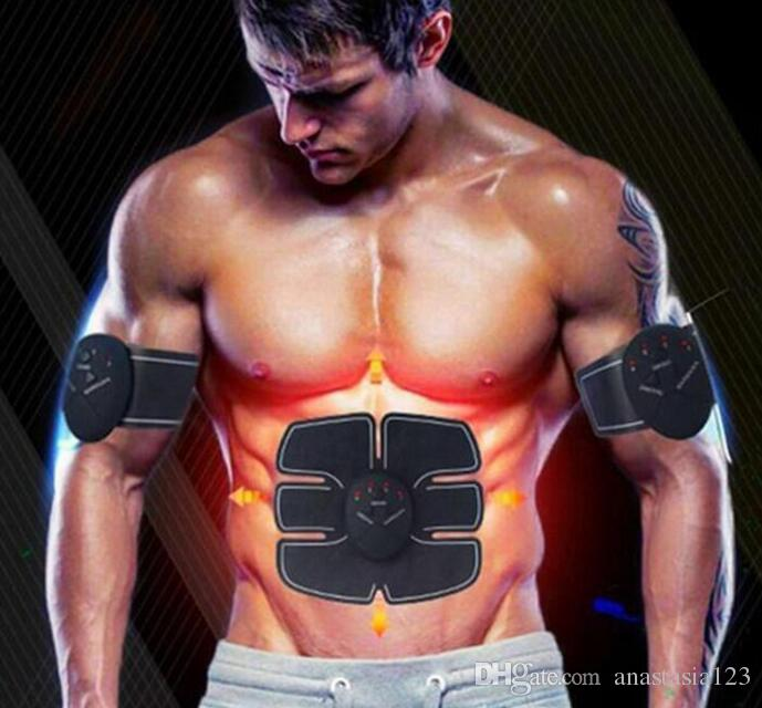 كهربائي EMS البطن مدرب عضلات الحبر الذراع عضلات عبس نحت الجسم بممارسة مشجعا العضلات الإلكترونية الذكية