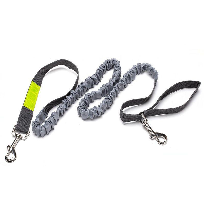 Productos para mascotas en Gran correa de perro Manos libres conduce collar de perro accesorios para mascotas cachorro de perro del correo del arnés para los animales