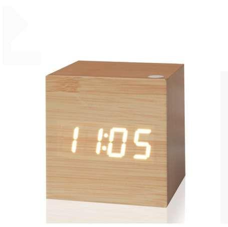 Orologio digitale antico Orologio da ufficio a LED Tavolo retrò vintage Personalizzato Breve orologio Art Orologio silenzioso Orologio elettronico Home Decor