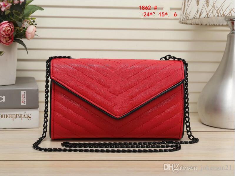 2018 styles sac à main célèbre designer marque de mode en cuir sacs à main femmes fourre-tout sacs à bandoulière en cuir Lady sacs à main sacs à main 1862 #