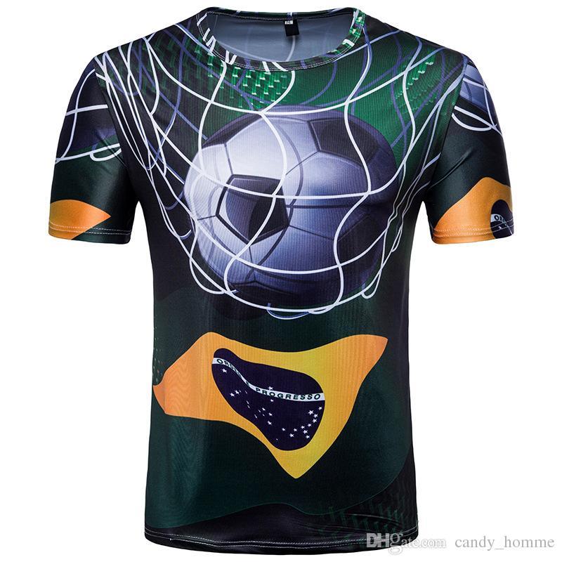 2018 All Brazil World Cup soccer jersey Football shirts Tops Men and Women Training football shirt Maillot de foot