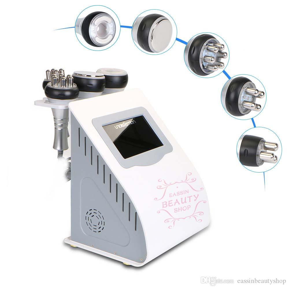 5 IN 1 Ultrasonic Cavitation 2.0 Machine Vacuum Radio Frequency Photon hyperthermia Machine Fat Burner Massage Weight Loss