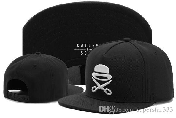 Cayler Sons Snapback Caps serpente che è in fiamme Lettere ricamate cappelli da baseball CS prima delle zappe caylor e cappelli da figlio Trust ball caps 00