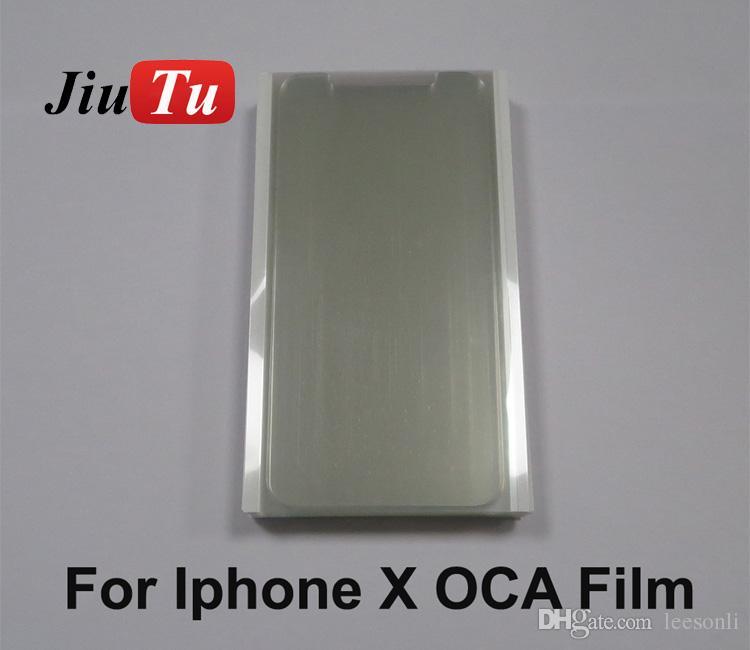 250um oled oca film para iphone x frente e verso folhas adesivas hot melt filme reparação da tela de toque