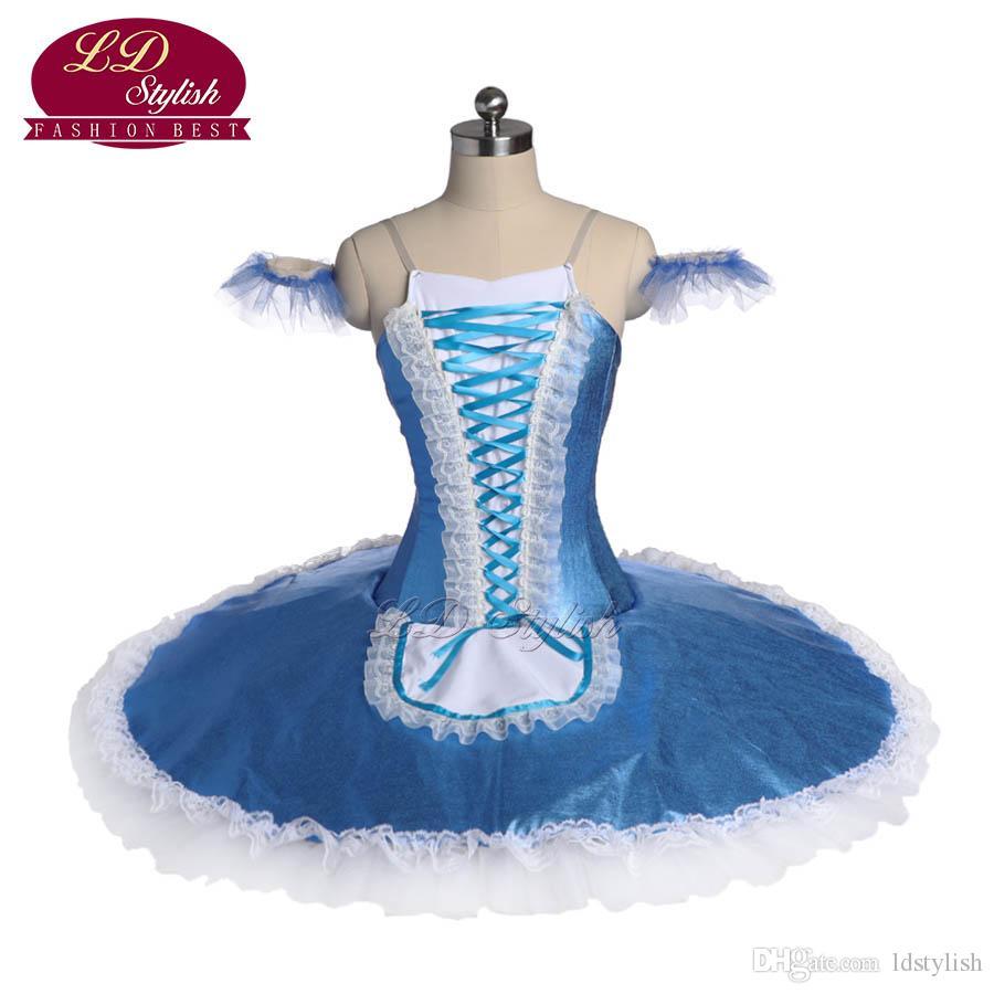 Yetişkin Profesyonel Bale Tutu Sahne Giyim YAGP Bale Dans Performansı Yarışması Kostümleri Kızlar Bale Elbiseler Apperal