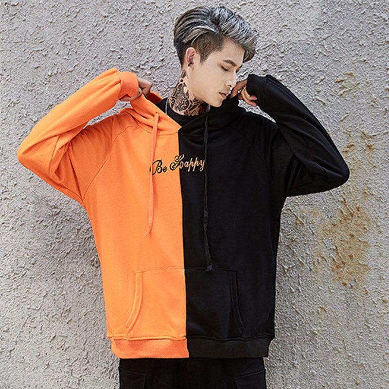 Sweatshirts McCkle Sourire Patchwork Femmes Dropshipping Streetwear Print Publier Sweat à capuche Hip Hop Hip Sweats à capuche Vêtements LXRAB