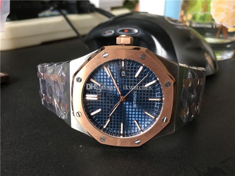 Hochwertige Herrenuhr des heißen Verkaufs, Automatikuhr Uhren Edelstahlarmbanduhr für Männer Transparentes Glas Zurück A02