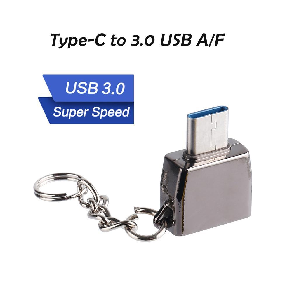 Tipo C USB OTG adaptador tipo C para USB 3.0 A / F Tipo-C Conversor cabo Adpater para Samsung S8, para P20 huawei