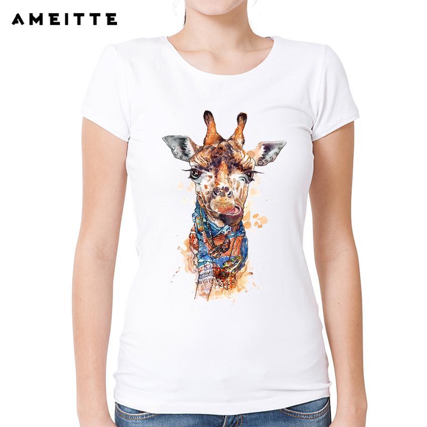 Acheter Tee Shirt Femme Ameitte Aquarelle