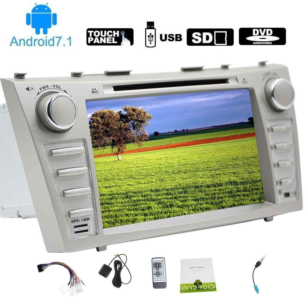 Eincar Android 7.1 Car Stereo 8''Double Din Car DVD Player para TOYOTA CAMRY (2007-2012) Autoradio Video FM / AM Radio Bluetooth In Dash