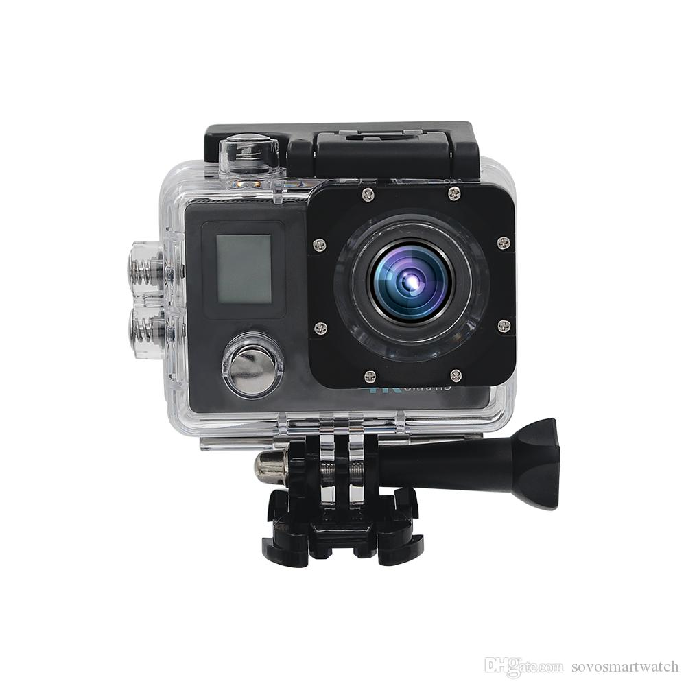 SOVO X-01 Wifi 1080P Full HD Action Цифровая спортивная камера 2-дюймовый экран под водонепроницаемым 30M DV запись Mini Sking Bicycle Photo Video Cam