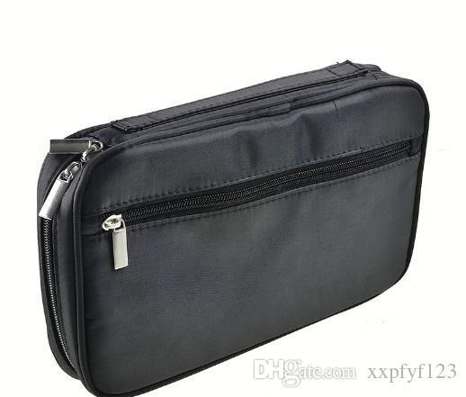 Sacos portáteis Escova de cintura Sacos Cosméticos PU Maquiagem Bag Brush Bag Capas Profissional Maquiagem Zipper A867 LQFMC