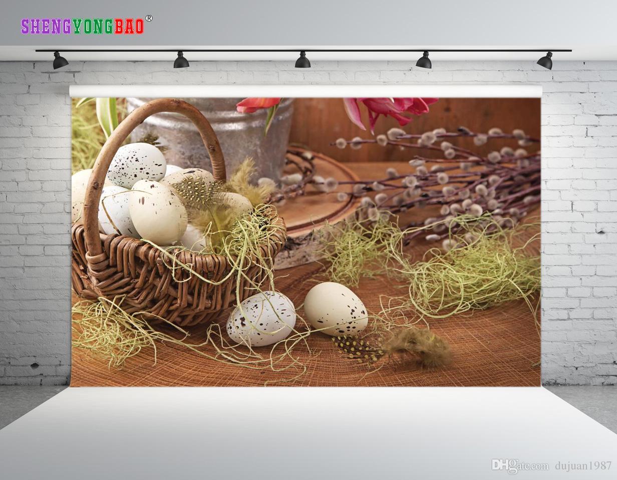 Vinyl Custom Easter day theme Photography Backdrops Prop digital printed Photo Studio Background ZP-147