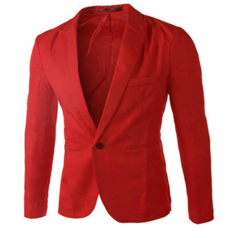 Men's Korean Small Suit Men's Jacket French Fashion Casual Small Suits Trend Jacket College Wind One Buckle Single Suit Jackets