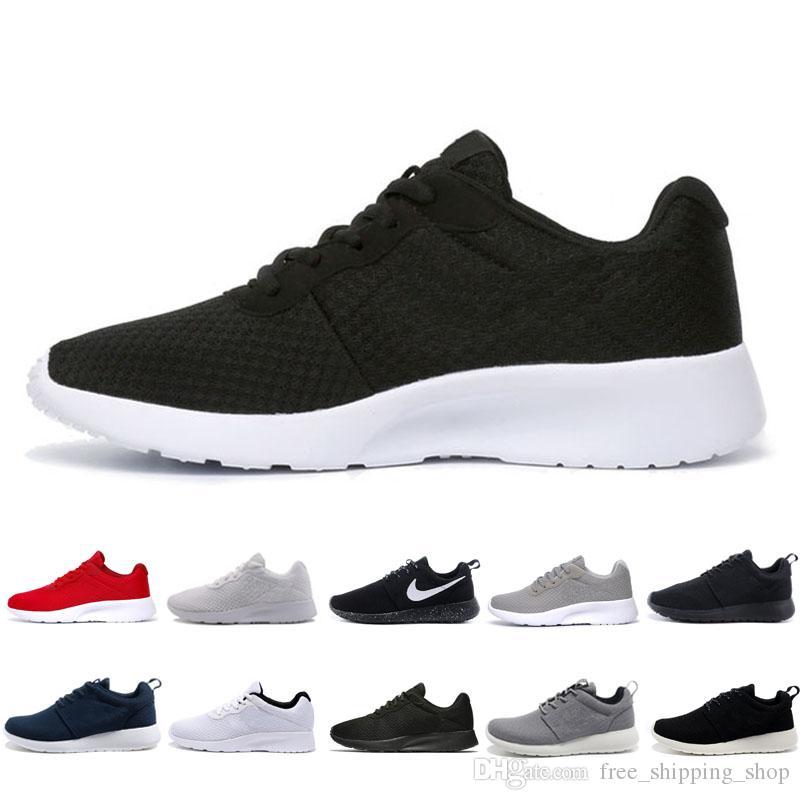 nike roshe run one 1.0 3.0 Londra Olimpiyat Koşu Ayakkabıları Erkek Kadın siyah beyaz gri kırmızı örgü Açık Spor Sneaker Ayakkabı Çalışır 36-45
