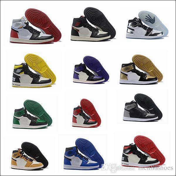 20181 OG NRG Collection Top Quality BV1300-146 Mens Sapatos Esportivos Homens Sapatos Esportivos 1 High NRG Casaul Sapatos Tamanho 7-12