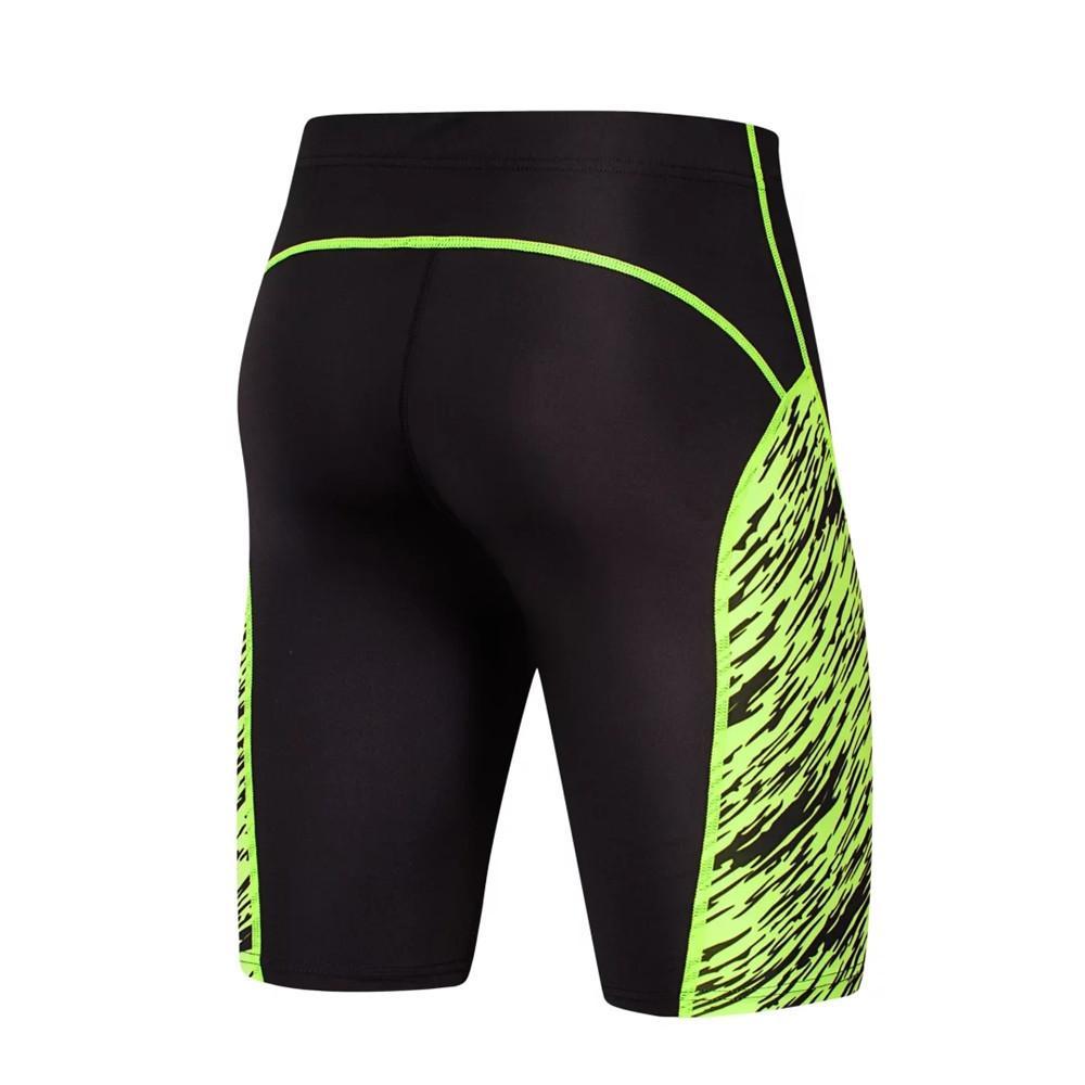 2017 Nouveau Gym Vêtements Collants Collants Hommes Courir Shorts Sports Spandex Lycra Court Pantalon Serré Legging Basketball Jambe Élastique Y1890402