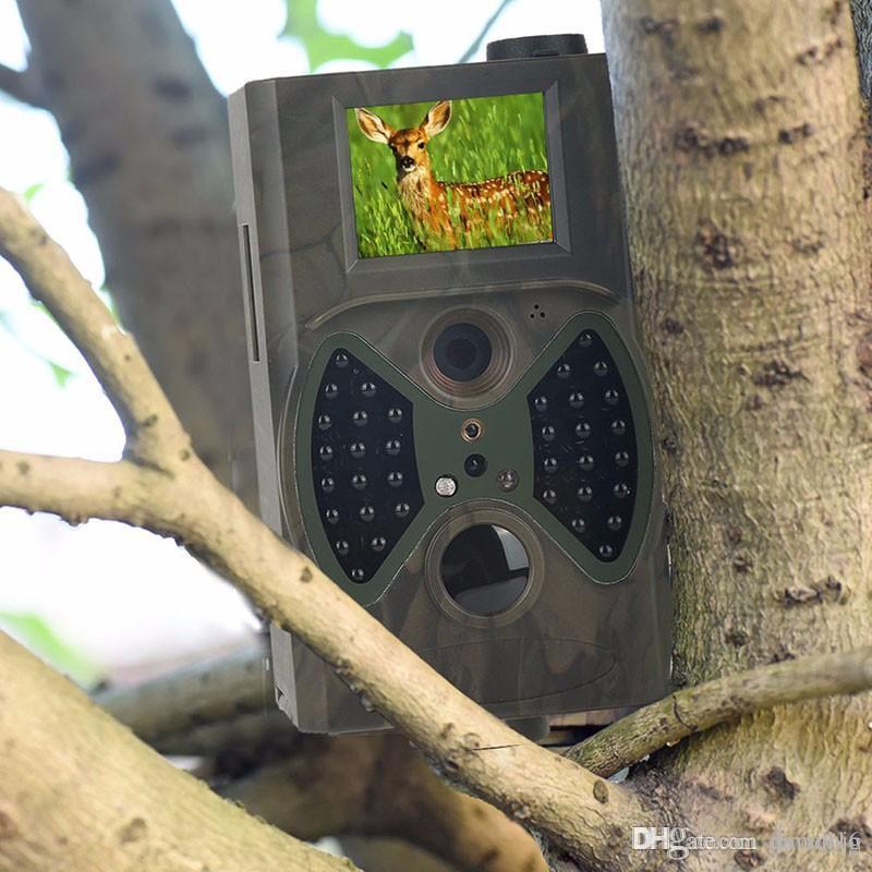 새로운 HC300M 노 글로우 트레일 카메라 사냥 카메라 트랩 게임 카메라 블랙 IR 야생 동물 무료 배송