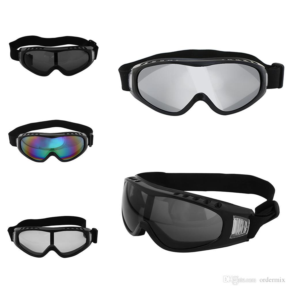 1 Unids Hombres antivaho Motocross Motocicleta Gafas Off Road Auto Racing Máscara Gafas Sunglesses Gafas protectoras