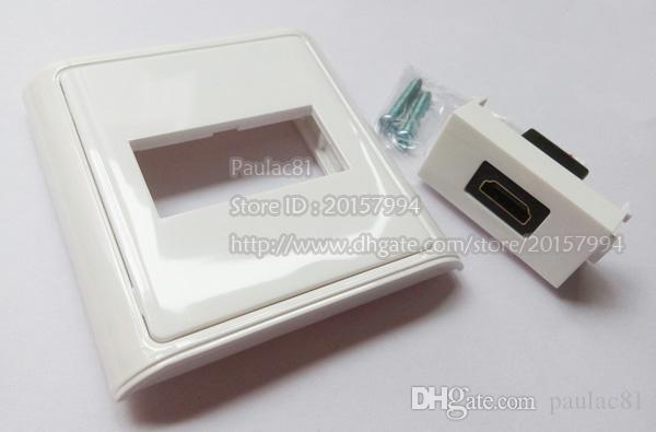 Haute Qualité HDMI 1.4 Femelle à Femelle Module Plug Panneau Pour Plaque Murale / Livraison Gratuite / 2 PCS