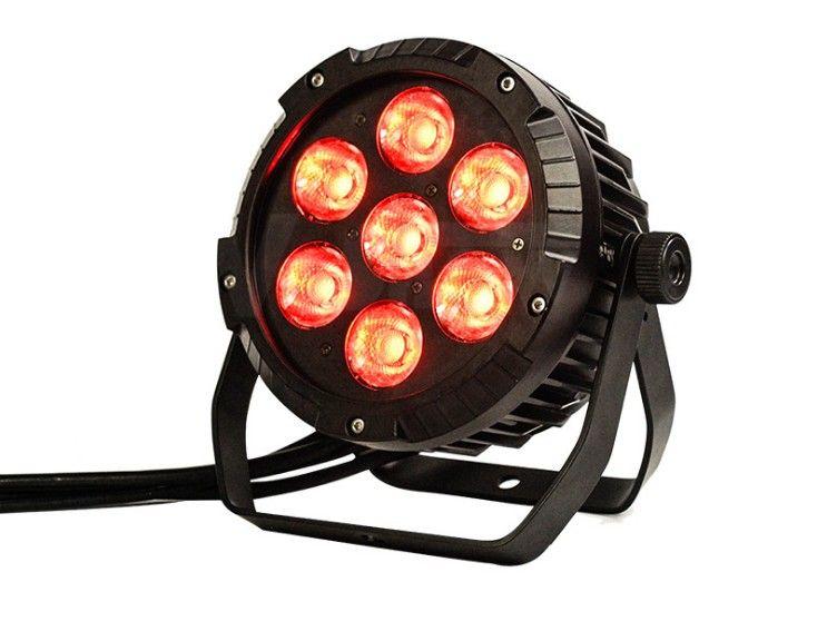 يمكن للماء LED البوليفيين الاسمية 7 * 25W RGBWA 5in1 اللون لإظهار الإضاءة في الهواء الطلق / حديقة بقيادة الاسمية LLFA