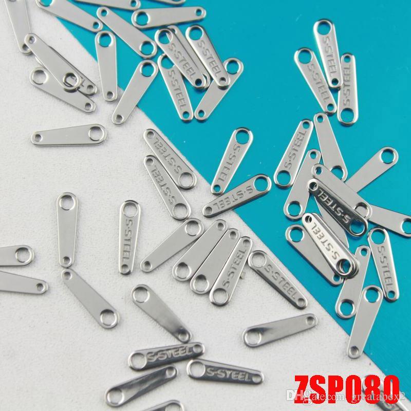 Nouveau OFF30% tag Recommander acier inoxydable S.STEEL collier / bracelet / bracelet de cheville pièces de bijouterie