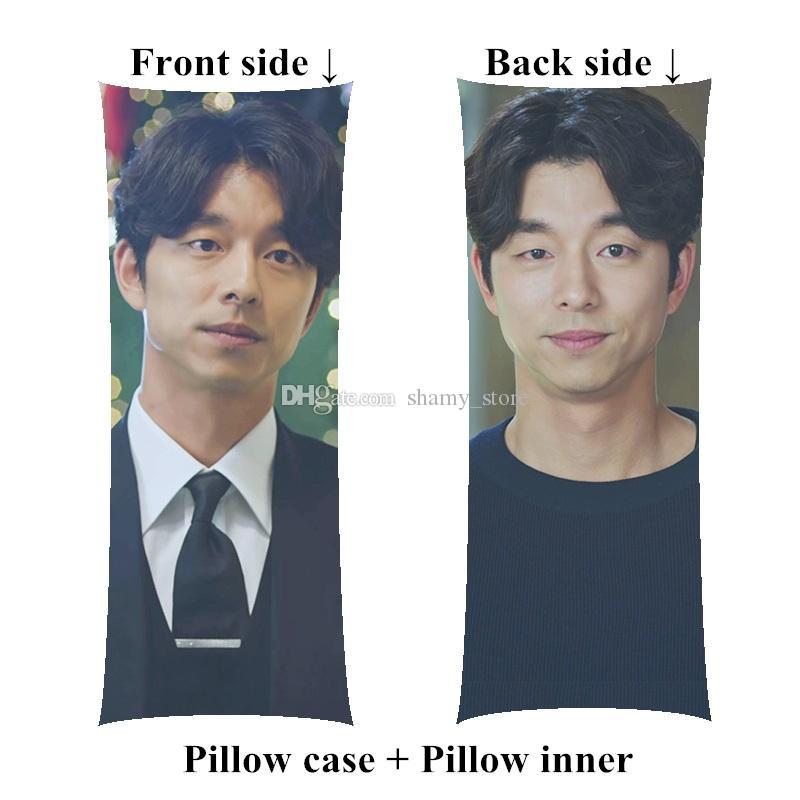 korea drama pillow Guardian The Lonely and Great God Gong Yoo Boyfriend long size body Pillow gift customize