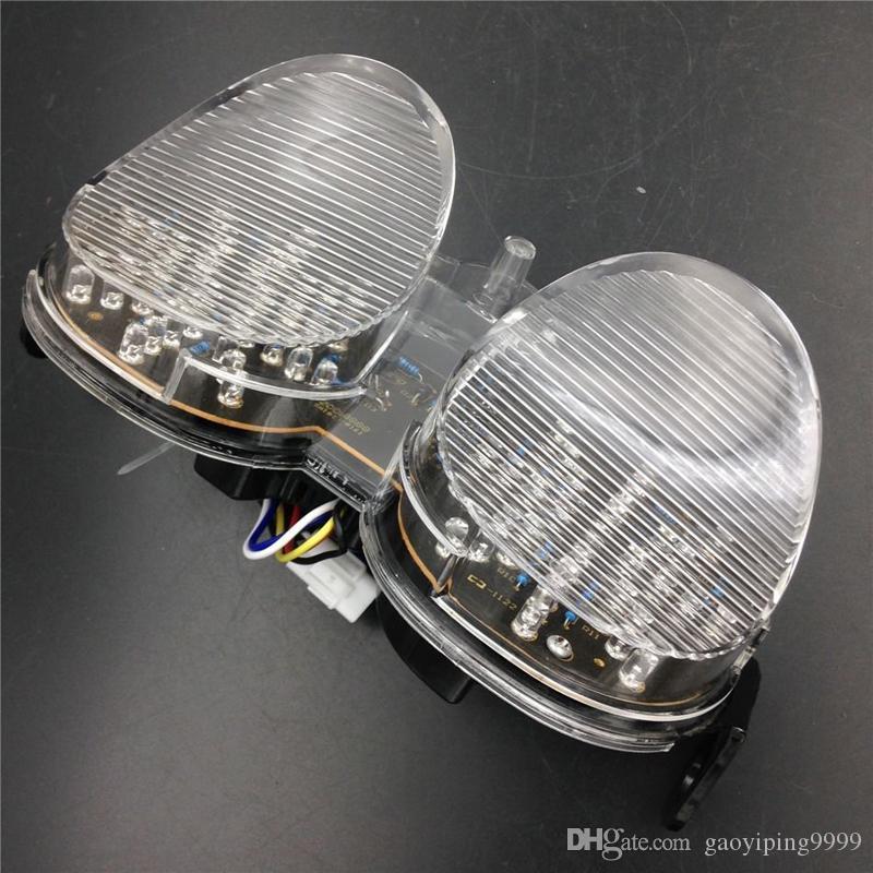 Мотоцикл ясно LED задний тормоз сигнала поворота для Yamaha YZF-R6 2001-2002 XJR1300 2005-2014