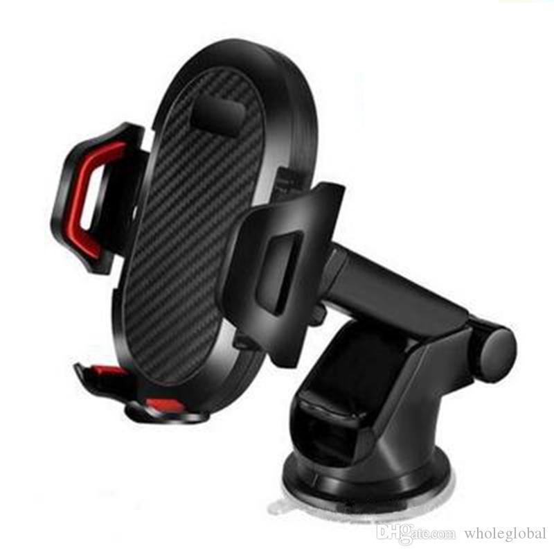 New Arrival Regulowany Długi Ramię Neck Rotatable Car Mocowanie Uchwyt Telefon komórkowy Ssanie Uchwyt Stojak dla iPhone Huawei