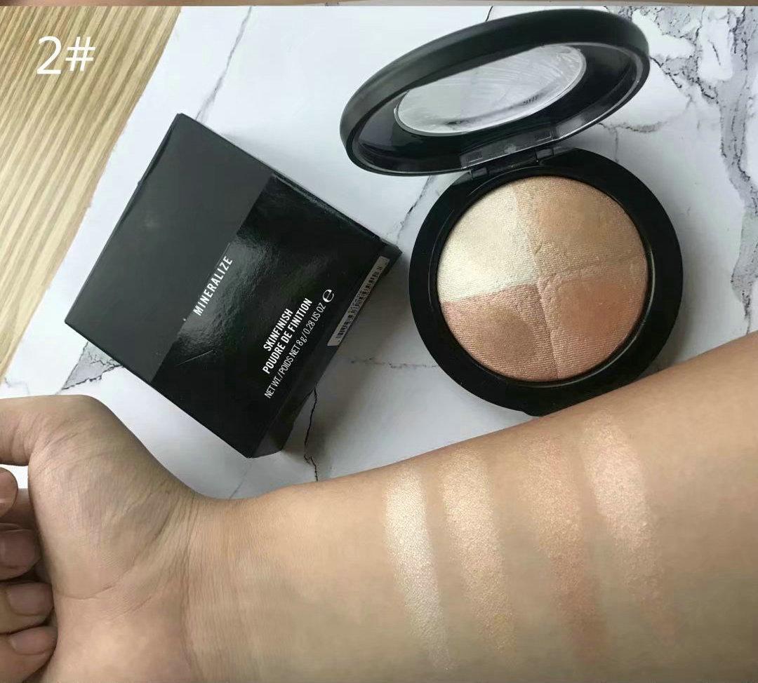 Marka Makyaj mineralleştirilmesi Skinfinish Toz de finition 8G İşaretleyiciler Toz 4 renk Kozmetik Ücretsiz Kargo