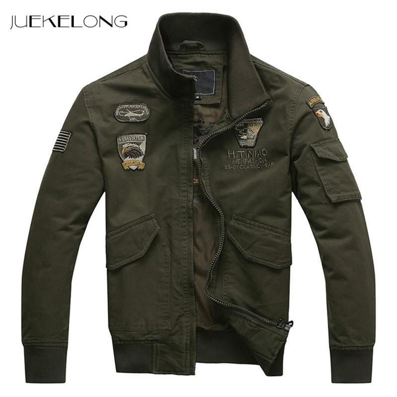 NEUE 2018 Männer Casual Parkas Dicke Warme Winterjacke Männer Militär Epaulet Reißverschluss Feste Gepolsterte Mantel Stickerei Jacke HP830
