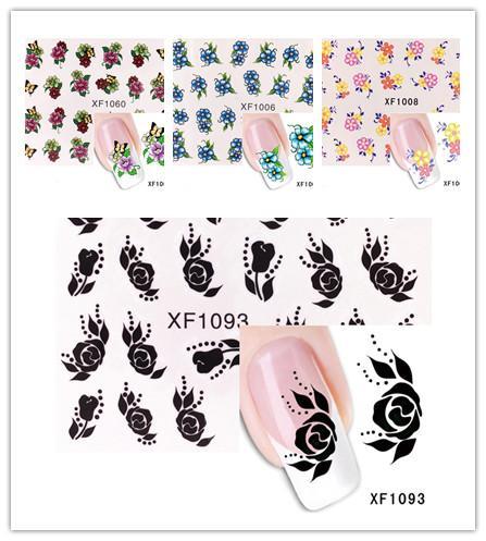 § stickers autocollants FLEURS modèle 1