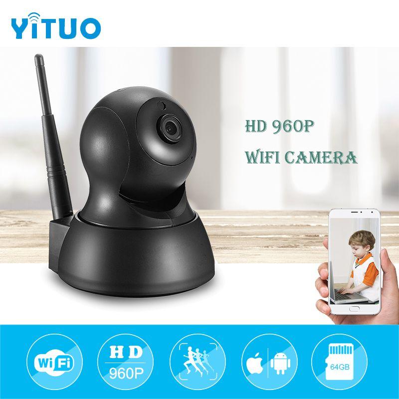 HD 960P IP 카메라 와이파이 PTZ 보안 IR 야간 투웨이 오디오 스마트 CCTV 감시 무선 IP 카메라 P2P YITUO
