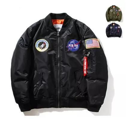 NASA Mens MA1 Bomber Jacket