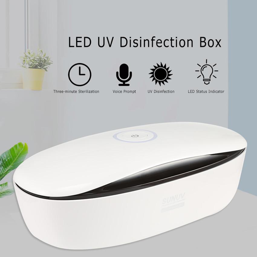 Großhandel S1 UV-Licht Sterilisator Aufbewahrungsbox Für Comestic Nagelkunstwerkzeuge Körperpflege Desinfektion Maschine Schönheitssalon
