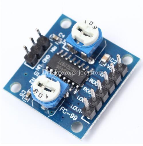 ¡Envío gratis! 5 unids / lote PAM8406 tablero del amplificador digital de volumen amplificador estéreo ajustable clase D 5Wx2 nuevo módulo original