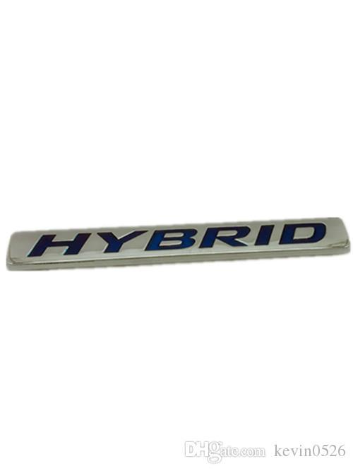 1x Métal 3D HYBRIDE Voiture Avant Arrière Fender Porte-Badge Emblème Decal Pour Toyota
