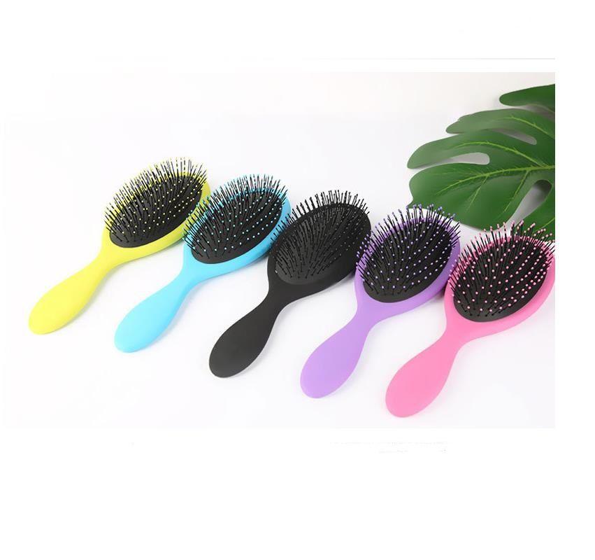 Hopeforth cabello seco original del cepillo del cepillo de pelo Detangler peine masaje con bolsas de aire peines para Cepillo Ducha Cabello mojado