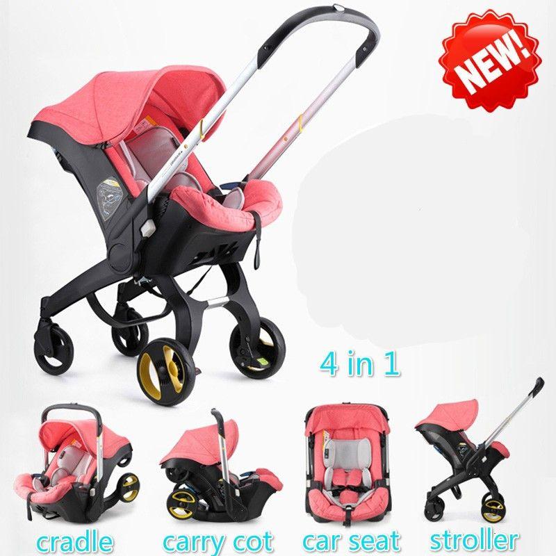 2020 Baby Stroller 4 In 1 Newborn Baby Bassinet Sleeping Basket