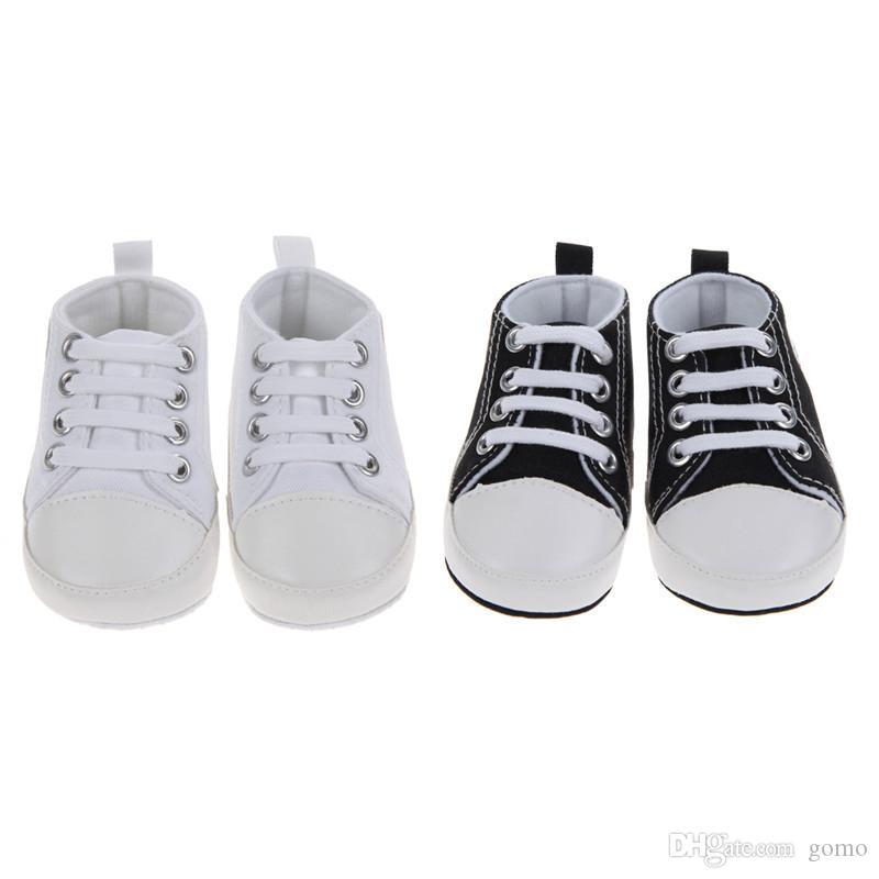Babyschuhe Frühling Herbst Infant Junge Mädchen Sportschuhe Lace-Up Erste Wanderer Kinder Kinder Schuhe Prewalkers für 0-24 Mt